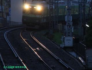京阪 五月雨と黄昏 6
