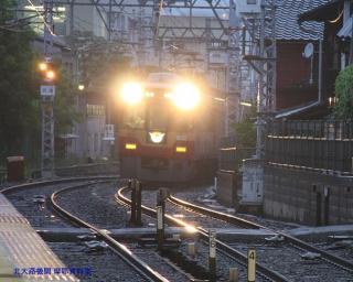 京阪 五月雨と黄昏 3
