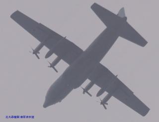 岐阜基地 C-1&飛行機雲 2