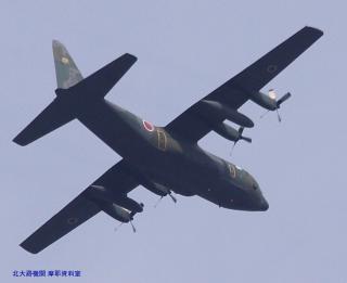 岐阜基地 C-1&飛行機雲 4