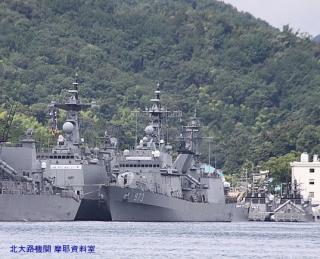 舞鶴 韓国艦隊入港の様子 5