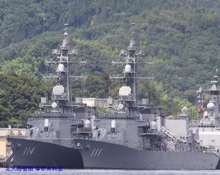 舞鶴 韓国艦隊入港の様子 8