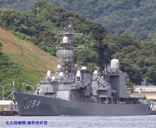 舞鶴 韓国艦隊入港の様子 9