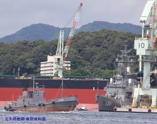 舞鶴 韓国艦隊入港の様子 10