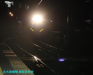 京阪旧3000系の到着を撮影です 4