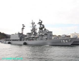 舞鶴の護衛艦あまぎり 横須賀へ 2