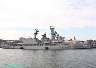 舞鶴の護衛艦あまぎり 横須賀へ 3
