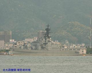 舞鶴の護衛艦はるな 対岸から 5