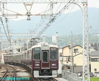 阪急電車梅雨明け特集 1