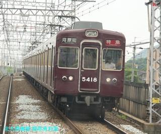 阪急電車で2北アクセス50000突破記念 2