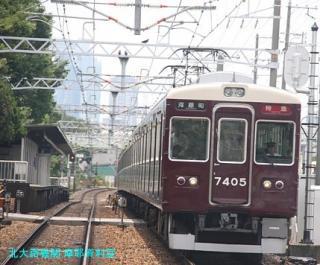 阪急電車で2北アクセス50000突破記念 8