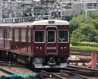阪急電鉄は早速天神祭ヘッドマークを装備 6