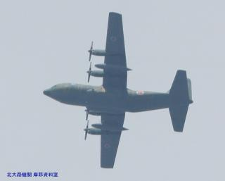 岐阜基地の方からUP-3Cが飛んできた 10