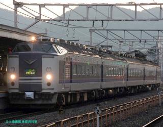 急行きたぐに&早朝の京都駅 1