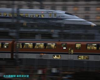 京都駅 485系雷鳥 流し撮り 7