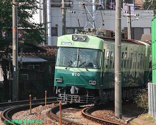 石山坂本線の600系 3