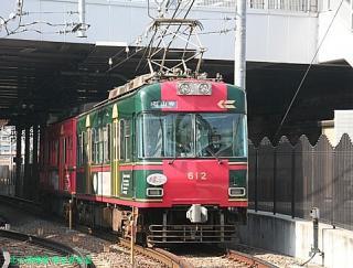 石山坂本線の600系 4