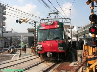 石山坂本線の600系 5