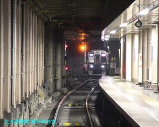 阪急電車 夜の撮影 0610 7
