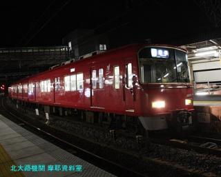 名鉄電車と花火大会 3