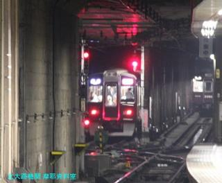 阪急電車 夜の撮影 0610 9