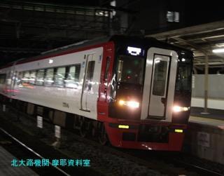 名鉄電車と花火大会 8