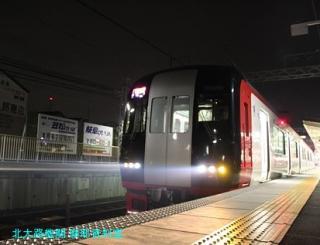 名鉄電車と花火大会 9