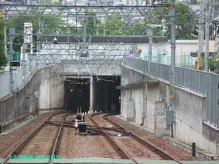 京阪京津線800系の東山越 6