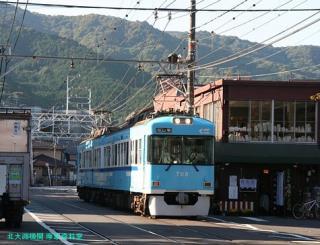 浜大津の京阪電車 2