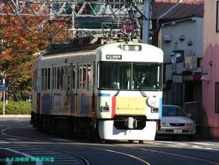 大津浜の京阪電車 1