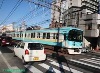 京阪京津線併用区間 3