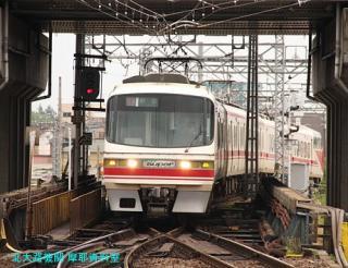 名鉄岐阜駅の1700系特急 10