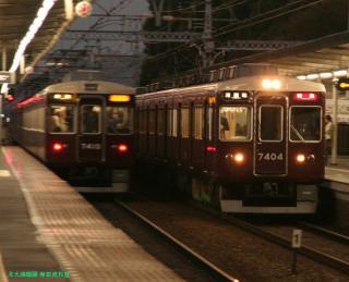 阪急 嵐山へ臨時直通電車を運行 9