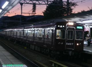 阪急 嵐山へ臨時直通電車を運行 12