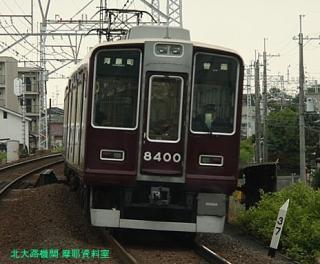 阪急京都本線の朝を撮ってみました 2