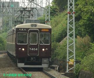 阪急京都本線の朝を撮ってみました 3