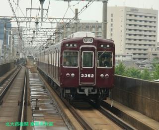 阪急京都本線の朝を撮ってみました 4