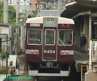阪急京都本線の朝を撮ってみました 10