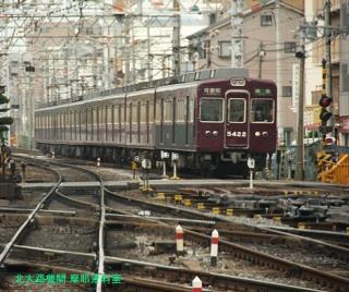 阪急京都本線の朝を撮ってみました 12