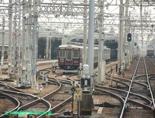 阪急神戸本線、9000系の車窓から 8