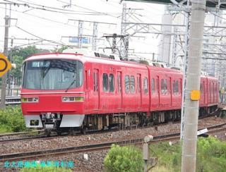名鉄本線 名古屋と金山の間の名鉄電車 1
