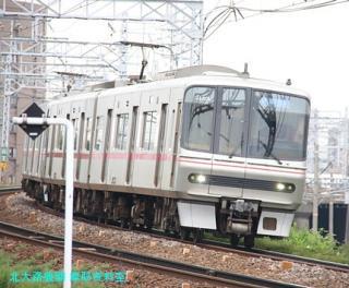 名鉄本線 名古屋と金山の間の名鉄電車 3