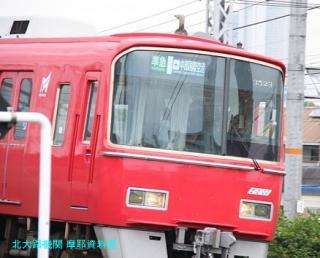 名鉄本線 名古屋と金山の間の名鉄電車 7