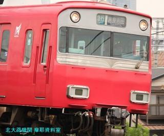 名鉄本線 名古屋と金山の間の名鉄電車 9