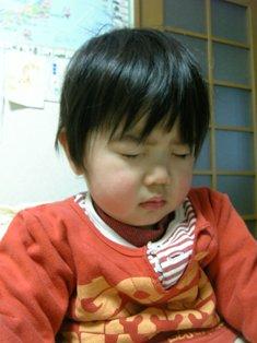 ナオ寝起き