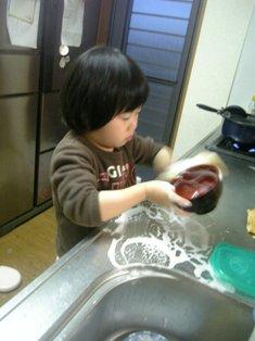 皿洗い01