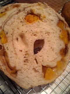 チーズかぼちゃbagle