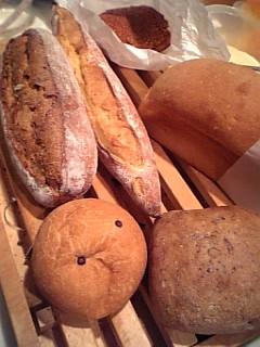 ダンディゾンのパン