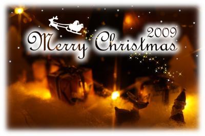 クリスマス用写真カード
