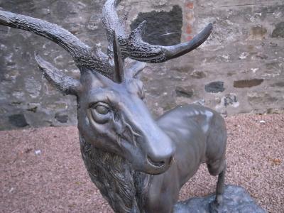 グレンギリーのシンボルは鹿だ